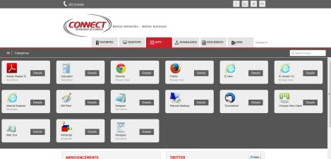 CONNECT Computer - Citrix SF 3.0 Apps Page