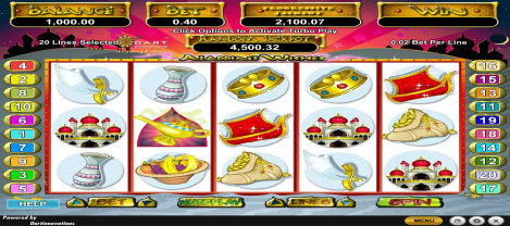 Aladdin Wishes – a casino slot game