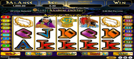 Aztech Treasure – a casino slot game