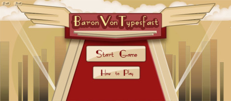 BaronVon – It is a keyboard typing game where the user can get trained as well as tested for his typing skills.