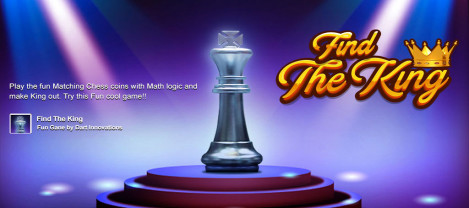 Find the King – an addictive chess board game similar to 2048 game with Facebook integration