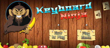 Keyboard Ninja – It is a keyboard typing game where the user can get trained as well as tested for his typing skills.