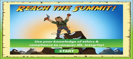 Reach The Summit – Use the knowledge of Ethics and Compliance to conquer Mt. Integrity