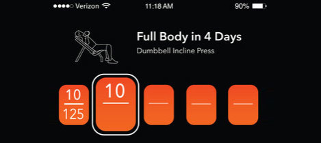 iOS app to track day to day fitness activities