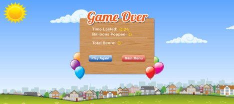 Type a Balloon – It is a keyboard typing game where the user can get trained as well as tested for his typing skills.