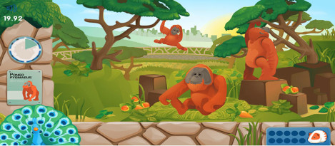 Zoo – It is game for kids to identify the animals in zoo.
