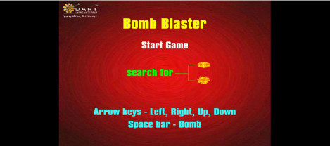 Bomb blaster – it is a maze game