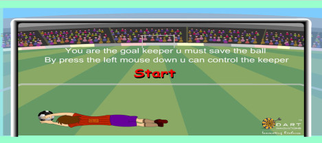 Goal Keeper – A penalty shoot out game where the user needs to save the goals