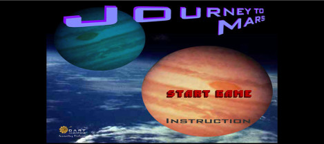 Journey Mars – it is an asteroid shooting game in space
