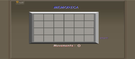 Memorica – It is a memory game