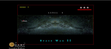 Space War – It is a shooting game in space