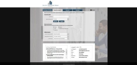 CityTechGroup – MS RD Web Access 2012 R2 Connect to a Remote Pc