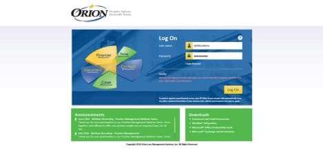 Orion Law - Microsoft RD Access Web Login