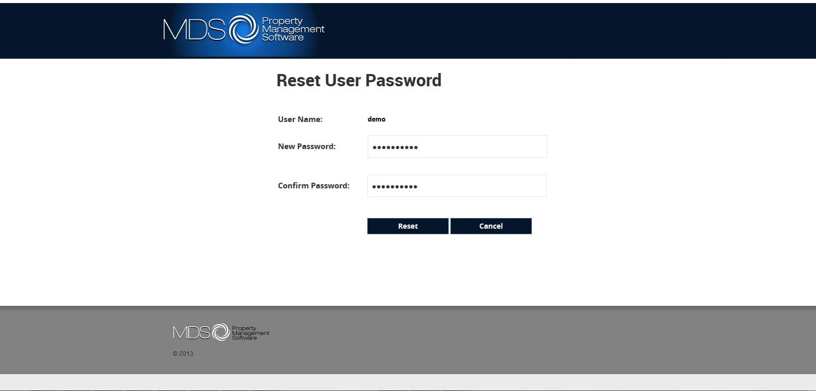 MDS - MS RDWEB 2012 R2 Reset User Password