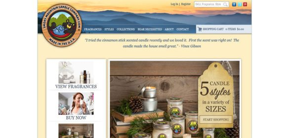Candle selling site – Wordpress – WooCommerce