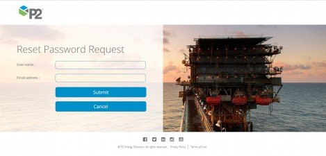 P2 Energy Solutions - RD Web Access 2012 Reset Password Request